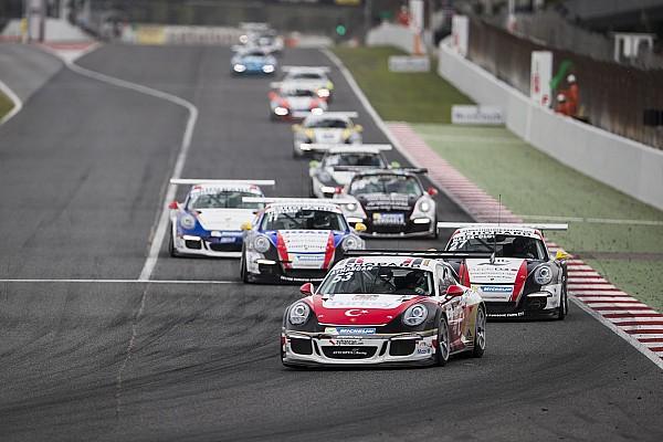 Porsche Yarış raporu Ayhancan Güven, Barcelona'daki ilk yarışı podyumda tamamladı
