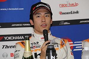 全日本F3 速報ニュース 坪井翔、猛追も王者には届かず「結果を素直に受け止め次につなげたい」