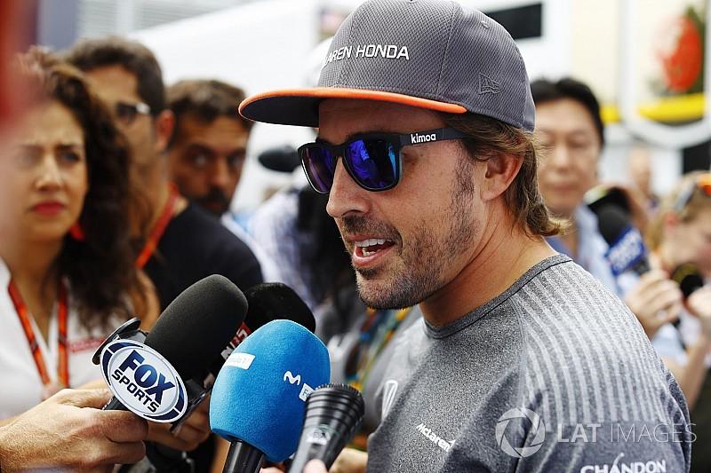 """Alonso: Cingapura dá """"chance real"""" de resultado positivo"""