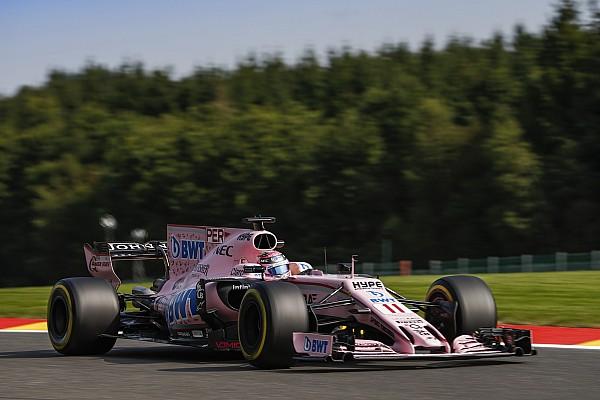 """Irritado com manobra, Pérez chama Magnussen de """"sujo"""""""