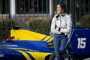 Formula V8 3.5 Noticias Tatiana Calderón debutará en la Fórmula V8 3.5 en Bahrein