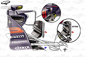 Formel-1-Technik: Updates am Red Bull RB13 in Singapur