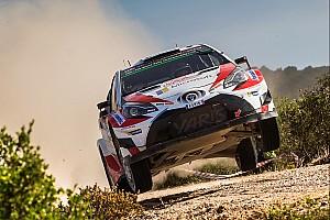 WRC Ultime notizie Toyota: ora la Yaris sullo sterrato vola. Latvala sul podio in Sardegna