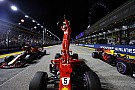 Festa de Vettel e decepção de Hamilton; o sábado em imagens