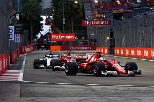 Formel 1 Ergebnisse F1 2017: Die Qualifying-Duelle beim GP Singapur