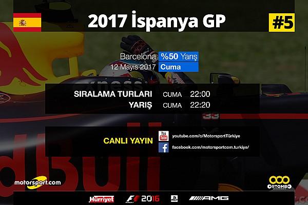 FORMULA 1 LİGİ Son dakika 2017 İspanya GP Sanal Turnuva: Canlı Yayın