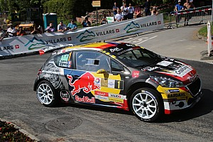 Schweizer rallye Etappenbericht Rallye du Chablais: Carron führt nach Etappe 1 vor Loeb