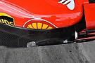 Ferrari strengthens floor area after flexing intrigue