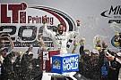 NASCAR Truck Bubba Wallace se lleva la victoria en Truck