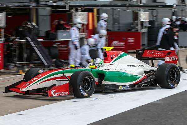 Formula V8 3.5 Spa F3.5: Force India protege Celis claims maiden pole