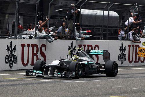 Como la victoria de Mercedes en Shanghai 2012 advirtió de su dominio