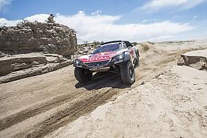 Dakar Noticias Sainz salva una etapa crucial acabando en tercera marcha