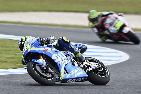 "MotoGP スズキのイアンノーネ「批判した人に僕の強さを見せた」と""満足"""