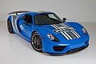 Automotive El Porsche 918 Spyder VooDoo Blue, a subasta
