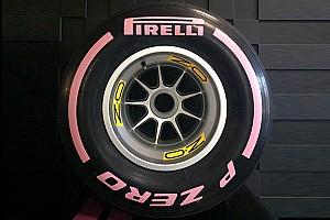 Pirelli: la banda delle gomme Ultrasoft diventa rosa ad Austin