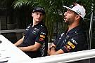 Формула 1 Ферстаппен и Риккардо прокатились на дрифт-картах по базе Red Bull