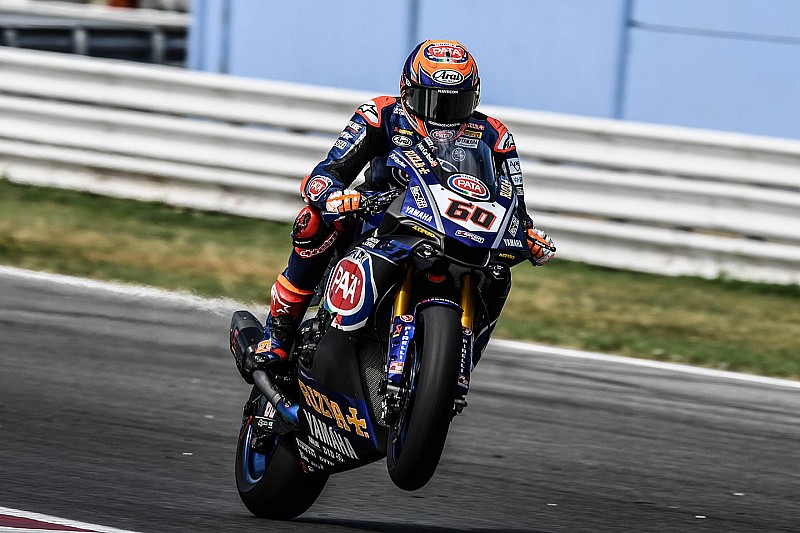 Van der Mark tevreden over Misano, zet deur naar MotoGP op een kier
