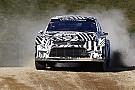 Ралі-Крос Volkswagen розпочала тести нової машини WRX