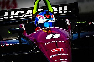 """IndyCar Breaking news Wickens: No issues with Pagenaud """"because we both made it through"""""""