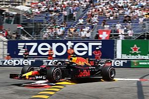 In beeld: De crash van Max Verstappen in Monaco
