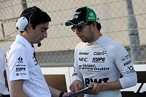 F1 Noticias de última hora VIDEO: Checo Pérez trabaja en el gym previo a temporada de F1
