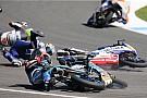 Ле-Ман Жуть в Moto3 и горящий байк Рабата: лучшее гоночное видео уик-энда