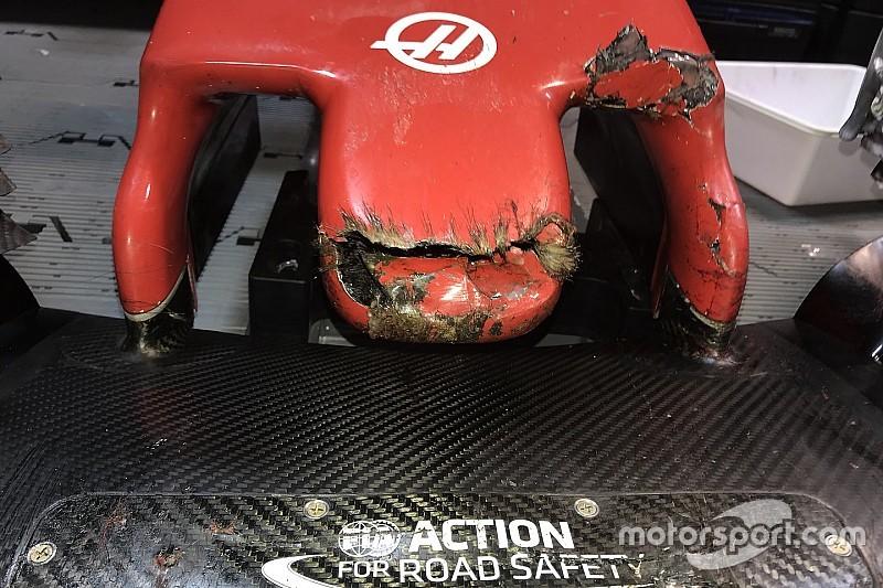 Grosjean atropela marmota durante treino no Canadá