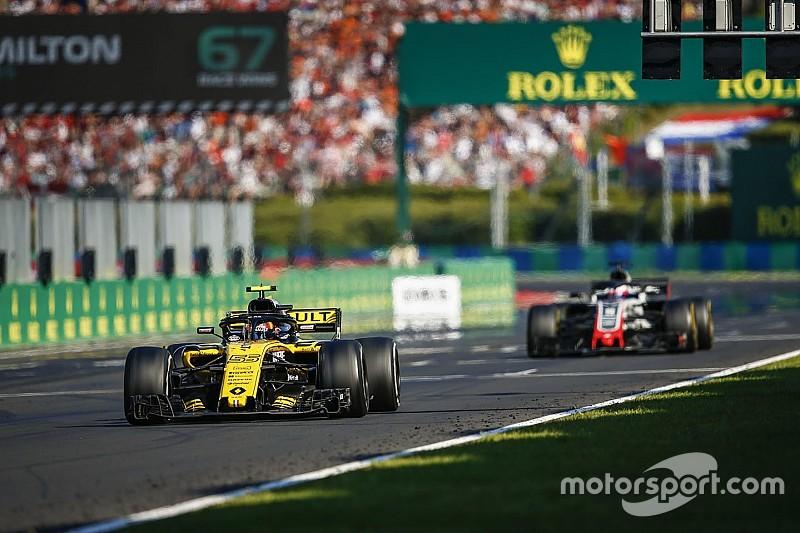 L'avance de Renault sur Haas a fondu