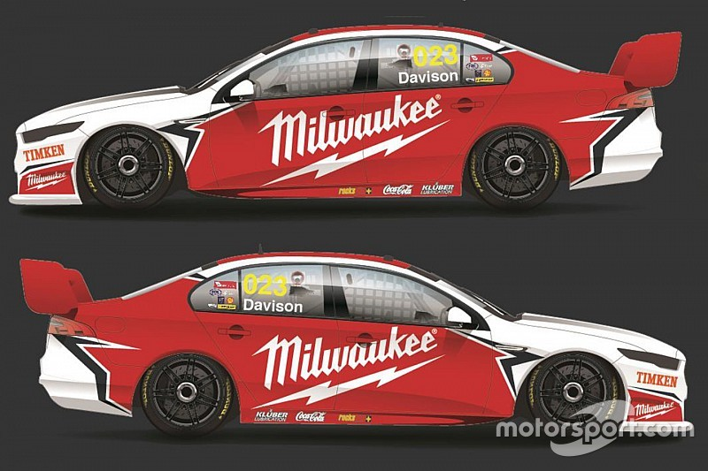 Sponsor and livery locked in for 23Red Racing