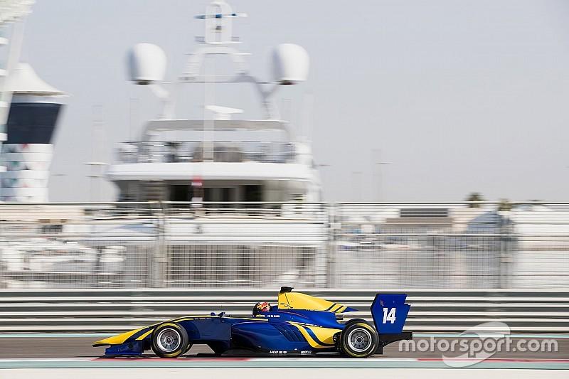 Kari volvió a ser el más rápido en las pruebas de la GP3