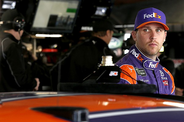 Denny Hamlin wins Short Track Showdown at Langley Speedway