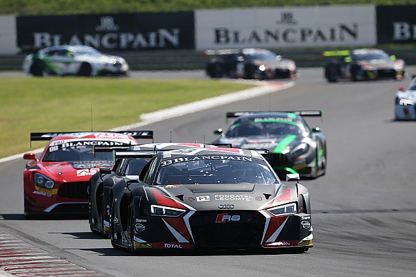 Blancpain Sprint Four podium finishes for the Team WRT at Budapest