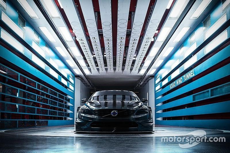 La Polestar Cyan Racing sviluppa la Volvo S60 TC1 in galleria del vento