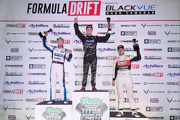 Formula Drift Matt Field takes the Title Fight event victory and Chris Forsberg is crowned champion