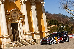 WRC Leg report Corsica WRC: Ogier stretches lead, Meeke and Latvala crash