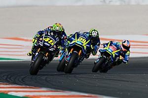 MotoGP Noticias de última hora Rossi y Viñales corrieron con el chasis de 2016 en Valencia