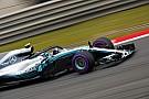 Mercedes culpa a los neumáticos por la falta de ritmo