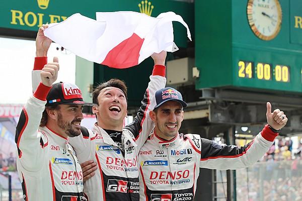 Le Mans Race report Le Mans 24h: Toyota breaks curse, Alonso wins on debut