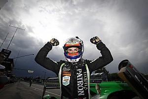 IMSA Qualifying report Detroit IMSA: Derani puts ESM Nissan on pole in messy session