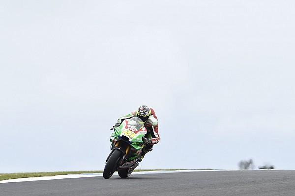 MotoGP Espargaro breaks finger in Phillip Island crash