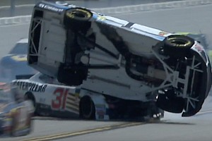 NASCAR Cup Practice report McMurray fastest, goes airborne in final practice at Talladega - video