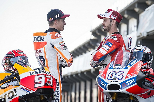 Photos - Márquez vs Dovizioso, le duel surprise