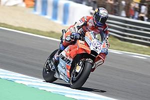 MotoGP Trainingsbericht MotoGP Le Mans: Andrea Dovizioso vor Marc Marquez und drei Yamahas