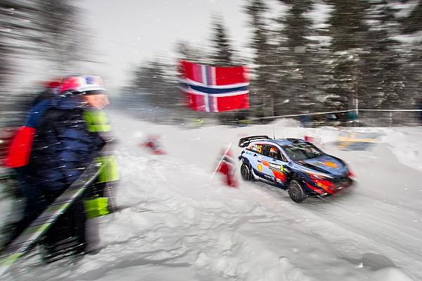 Hyundai lidera el viernes en Suecia