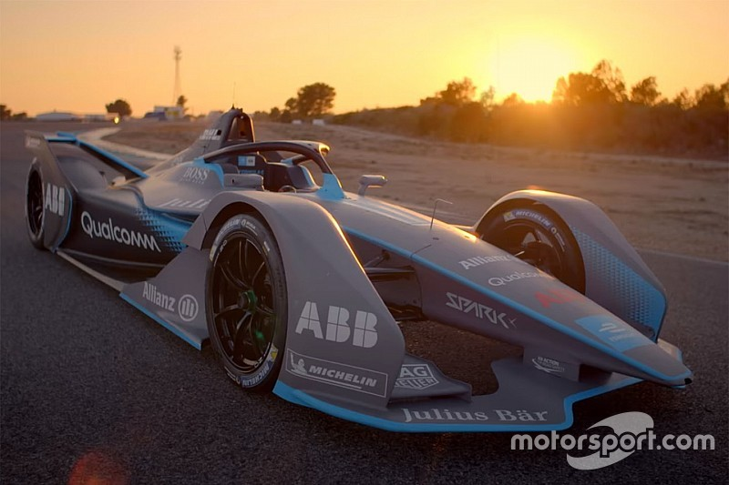 电动方程式推出2018/19赛季第二代赛车