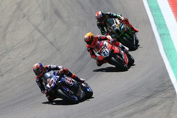 """Superbikes Reacties Van der Mark baalt van crash: """"Snelheid was goed genoeg voor podium"""""""