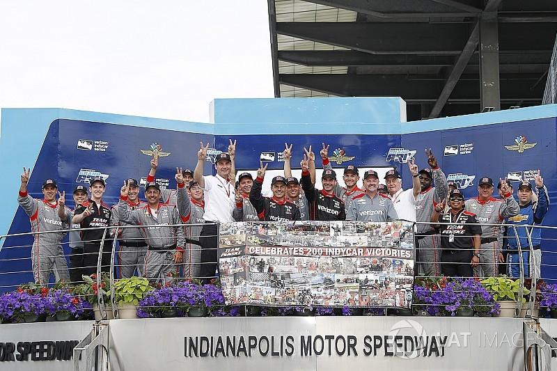 Indy GP: Power scores Team Penske's 200th Indy car win