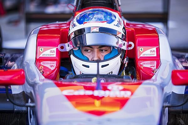 GP3 Raceverslag GP3 Barcelona: Alesi wint natte sprintrace vol crashes