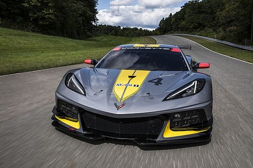 Surprise early unveiling for new Corvette C8.R