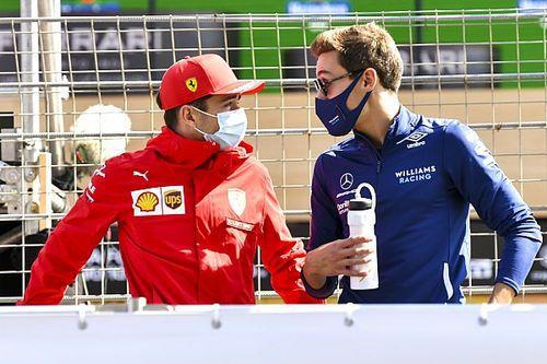 """Leclerc adviseert Russell: """"Leer van de beste en geniet ervan"""""""